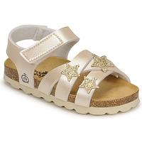 Παπούτσια Κορίτσι Σανδάλια / Πέδιλα Citrouille et Compagnie OKILIA Gold