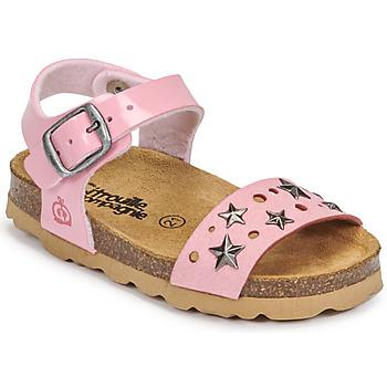 Παπούτσια Κορίτσι Σανδάλια / Πέδιλα Citrouille et Compagnie IHITO Ροζ