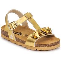 Παπούτσια Κορίτσι Σανδάλια / Πέδιλα Citrouille et Compagnie KAPIBA Gold
