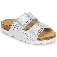 Παπούτσια Κορίτσι Τσόκαρα Citrouille et Compagnie MISTINGUETTE Άσπρο / Etoile