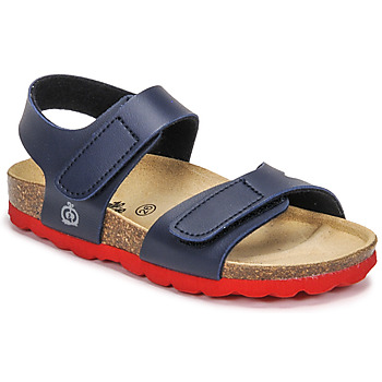 Παπούτσια Αγόρι Σανδάλια / Πέδιλα Citrouille et Compagnie BELLI JOE Marine / Red