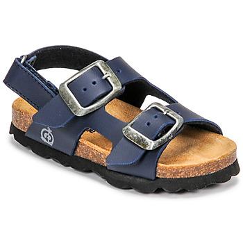 Παπούτσια Αγόρι Σανδάλια / Πέδιλα Citrouille et Compagnie KELATU Marine / Fonce