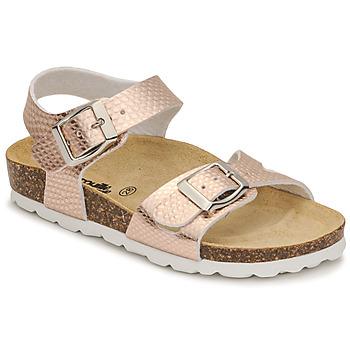 Παπούτσια Κορίτσι Σανδάλια / Πέδιλα Citrouille et Compagnie RELUNE Bronze