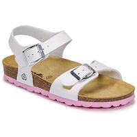 Παπούτσια Κορίτσι Σανδάλια / Πέδιλα Citrouille et Compagnie RELUNE Άσπρο
