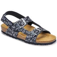 Παπούτσια Αγόρι Σανδάλια / Πέδιλα Citrouille et Compagnie KELATU Marine / Imprimé