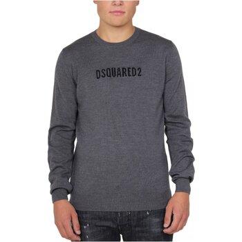 Υφασμάτινα Άνδρας Πουλόβερ Dsquared S71HA0916 Grey