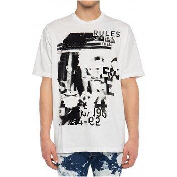 Υφασμάτινα Άνδρας T-shirt με κοντά μανίκια Dsquared S74GD0530 Άσπρο