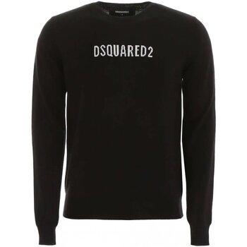 Υφασμάτινα Άνδρας Πουλόβερ Dsquared S71HA0916 Black