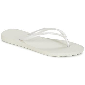 Παπούτσια Γυναίκα Σαγιονάρες Havaianas SLIM άσπρο