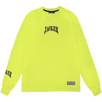 Υφασμάτινα Άνδρας Μπλουζάκια με μακριά μανίκια Jacker Corpo Πράσινο