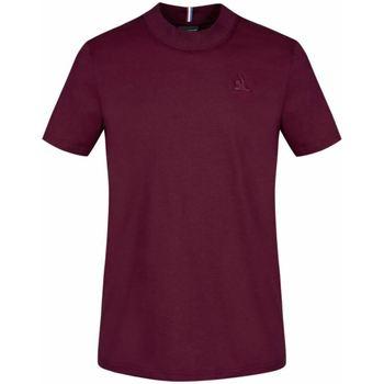 Υφασμάτινα Άνδρας T-shirts & Μπλούζες Le Coq Sportif T-shirt  Essential N°4 M rouge prune