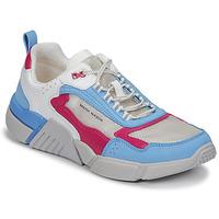 Παπούτσια Γυναίκα Χαμηλά Sneakers Skechers BLOCK/WEST Άσπρο / Μπλέ / Ροζ