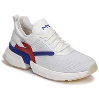Παπούτσια Γυναίκα Χαμηλά Sneakers Skechers SPLIT/OVERPASS Άσπρο / Μπλέ / Red