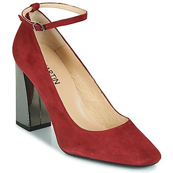 Παπούτσια Γυναίκα Γόβες JB Martin XEBRA Rosso