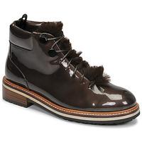 Παπούτσια Γυναίκα Μπότες JB Martin BRILLE H19 Κακάο