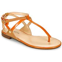 Παπούτσια Γυναίκα Σανδάλια / Πέδιλα JB Martin GENIE Arancio