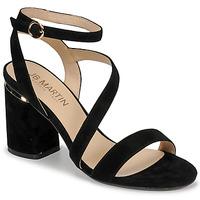 Παπούτσια Γυναίκα Σανδάλια / Πέδιλα JB Martin KRYSTEN Black