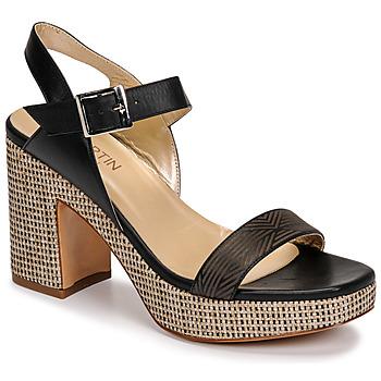 Παπούτσια Γυναίκα Σανδάλια / Πέδιλα JB Martin XEPIA Black