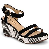 Παπούτσια Γυναίκα Σανδάλια / Πέδιλα JB Martin DORKA Black