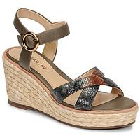 Παπούτσια Γυναίκα Σανδάλια / Πέδιλα JB Martin EMEA Olive