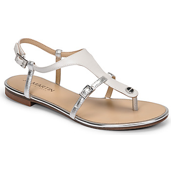 Παπούτσια Γυναίκα Σανδάλια / Πέδιλα JB Martin GAELIA E20 Άσπρο / Argenté