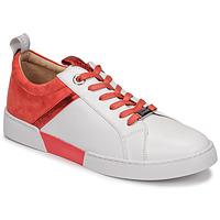 Παπούτσια Γυναίκα Χαμηλά Sneakers JB Martin GELATO Άσπρο / Corail