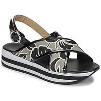 Παπούτσια Γυναίκα Σανδάλια / Πέδιλα JB Martin ILANG Black