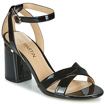 Παπούτσια Γυναίκα Σανδάλια / Πέδιλα JB Martin KIMOE Black