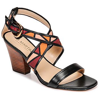 Παπούτσια Γυναίκα Σανδάλια / Πέδιλα JB Martin NALIA Black