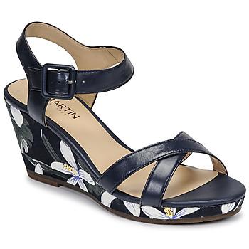 Παπούτσια Γυναίκα Σανδάλια / Πέδιλα JB Martin QUERIDA E20 Marine