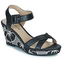 Παπούτσια Γυναίκα Σανδάλια / Πέδιλα JB Martin QUERIDA Black