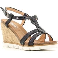 Παπούτσια Γυναίκα Εσπαντρίγια Le Chicche BF7244/5 Μαύρος