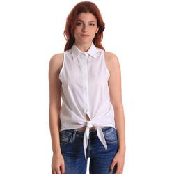 Υφασμάτινα Γυναίκα Μπλούζες Fornarina BE174573CA1609 λευκό