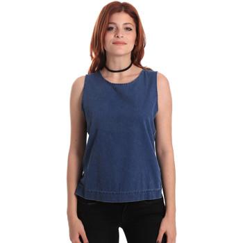 Υφασμάτινα Γυναίκα Μπλούζες Fornarina SE175J70D883SK Μπλε