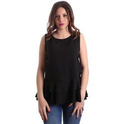 Υφασμάτινα Γυναίκα Μπλούζες Gaudi 911FD45048 Μαύρος