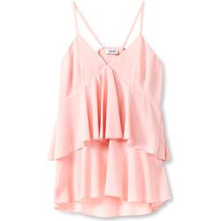 Υφασμάτινα Γυναίκα Μπλούζες Liu Jo F19006T5540 Ροζ