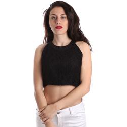 Υφασμάτινα Γυναίκα Μπλούζες Fracomina FR19SP689 Μαύρος