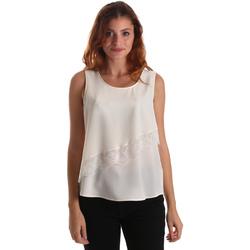 Υφασμάτινα Γυναίκα Μπλούζες Liu Jo W69236 T8552 λευκό