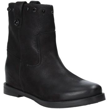 Παπούτσια Γυναίκα Μποτίνια Apepazza 9FRSB01 Μαύρος