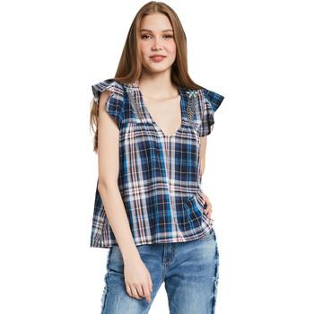 Υφασμάτινα Γυναίκα Μπλούζες Gaudi 011BD45007 Μπλε