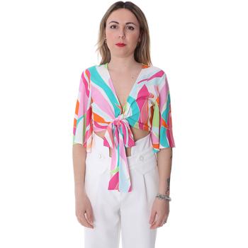 Υφασμάτινα Γυναίκα Μπλούζες Fracomina FR20SP519 λευκό