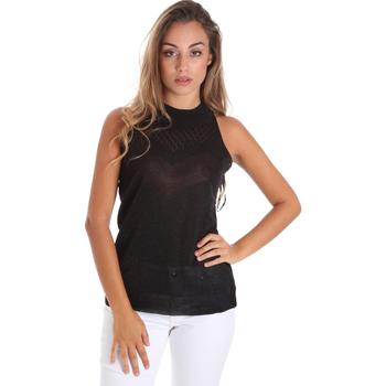 Υφασμάτινα Γυναίκα Μπλούζες Fracomina FR20SM812 Μαύρος