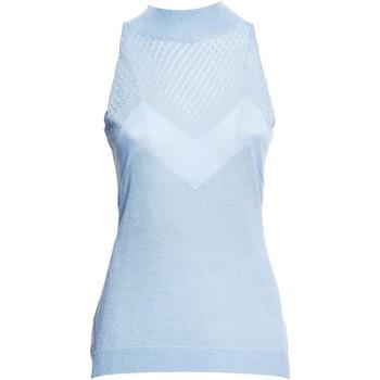 Υφασμάτινα Γυναίκα Μπλούζες Fracomina FR20SM812 Μπλε
