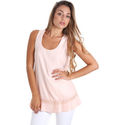 Υφασμάτινα Γυναίκα Μπλούζες Fracomina FR20SM014 Ροζ