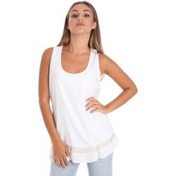 Υφασμάτινα Γυναίκα Μπλούζες Fracomina FR20SM014 λευκό