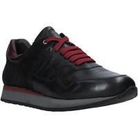 Παπούτσια Άνδρας Χαμηλά Sneakers Exton 591 Μαύρος