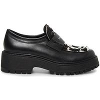 Παπούτσια Γυναίκα Μοκασσίνια Steve Madden SMSMALVERNC-BLKWHT Μαύρος