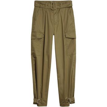 Υφασμάτινα Γυναίκα παντελόνι παραλλαγής Tommy Jeans DW0DW08321 Πράσινος