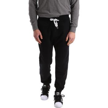 Υφασμάτινα Άνδρας Φόρμες Key Up 2F37I 0001 Μαύρος