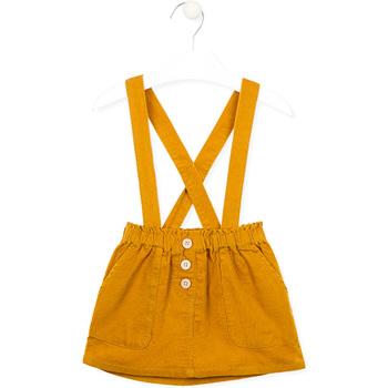 Υφασμάτινα Κορίτσι Φούστες Losan 026-7027AL Κίτρινος